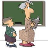 δάσκαλος διανυσματική απεικόνιση