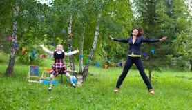 Δάσκαλος και σπουδαστής Στοκ εικόνα με δικαίωμα ελεύθερης χρήσης