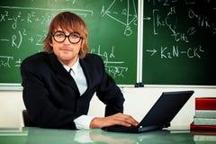 Δάσκαλος μαθηματικών Στοκ Εικόνες
