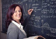 Δάσκαλος στο σχολείο στοκ φωτογραφίες με δικαίωμα ελεύθερης χρήσης