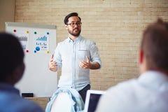 Δάσκαλος των πόρων χρηματοδότησης στοκ εικόνες
