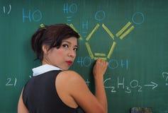 Δάσκαλος χημείας Στοκ φωτογραφίες με δικαίωμα ελεύθερης χρήσης