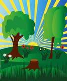 δάσος ανατολής απεικόνιση αποθεμάτων