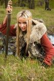 δάσος Βίκινγκ ξιφών κοριτ&sigm Στοκ Εικόνα