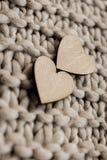 δάσος βαλεντίνων Αγίου καρδιών δώρων Στοκ εικόνες με δικαίωμα ελεύθερης χρήσης