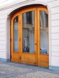 δάσος γυαλιού πορτών αψίδ Στοκ Εικόνες