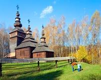 δάσος εκκλησιών Στοκ φωτογραφία με δικαίωμα ελεύθερης χρήσης