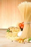 δάσος ζυμαρικών συστατικών τροφίμων στοκ φωτογραφία με δικαίωμα ελεύθερης χρήσης