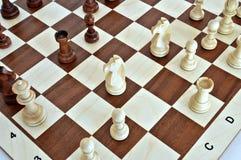 δάσος κομματιών σκακιού &chi Στοκ Εικόνα