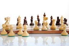 δάσος κομματιών σκακιού &chi Στοκ φωτογραφία με δικαίωμα ελεύθερης χρήσης