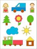 δάσος παιχνιδιών Στοκ εικόνες με δικαίωμα ελεύθερης χρήσης