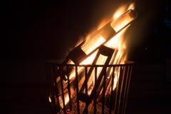 Δάσος στην πυρκαγιά Στοκ φωτογραφία με δικαίωμα ελεύθερης χρήσης