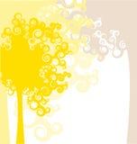 δάσος σχεδίου φθινοπώρ&omicron ελεύθερη απεικόνιση δικαιώματος