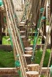 δάσος σχοινιών Στοκ φωτογραφία με δικαίωμα ελεύθερης χρήσης