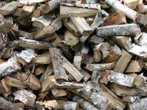 δάσος σύστασης προτύπων καυσόξυλου Στοκ Εικόνες