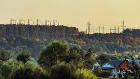 Δάσος χάλυβα Στοκ εικόνες με δικαίωμα ελεύθερης χρήσης