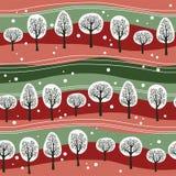 δάσος Χριστουγέννων ελεύθερη απεικόνιση δικαιώματος