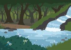 δάσος απεικόνιση αποθεμάτων