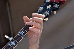 Δάχτυλα ενός Banjoist Στοκ φωτογραφίες με δικαίωμα ελεύθερης χρήσης