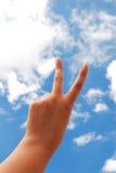 δάχτυλα στοκ φωτογραφία