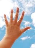 δάχτυλα στοκ εικόνα