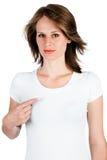 δάχτυλο που εμφανίζει γ&up Στοκ εικόνα με δικαίωμα ελεύθερης χρήσης