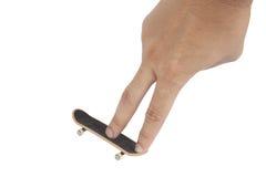 δάχτυλο χαρτονιών Στοκ φωτογραφία με δικαίωμα ελεύθερης χρήσης