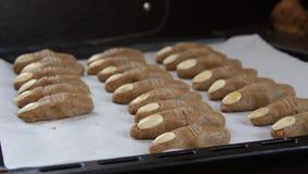 Δάχτυλα μαγισσών μπισκότων φιλμ μικρού μήκους