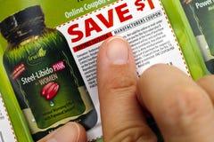 Δάχτυλα προσώπων Naturals Irwin στο δελτίο έκπτωσης Στοκ εικόνα με δικαίωμα ελεύθερης χρήσης