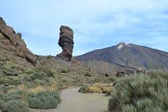 Δάχτυλο βράχος-Teide Vulkano Θεών Στοκ Εικόνα