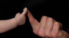 Δάχτυλο μωρών Στοκ φωτογραφία με δικαίωμα ελεύθερης χρήσης