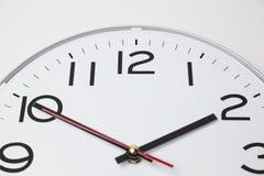 Δέκα λεπτά στο ρολόι δύο Στοκ φωτογραφία με δικαίωμα ελεύθερης χρήσης