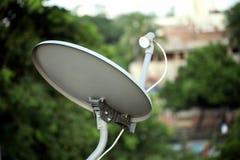 Δέκτης δορυφορικής τηλεόρασης στοκ φωτογραφίες με δικαίωμα ελεύθερης χρήσης