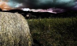 Δέμα του σανού Στοκ φωτογραφία με δικαίωμα ελεύθερης χρήσης