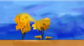 δέντρα ανασκόπησης απεικόνιση αποθεμάτων