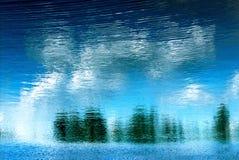 δέντρα αντανάκλασης Στοκ εικόνες με δικαίωμα ελεύθερης χρήσης