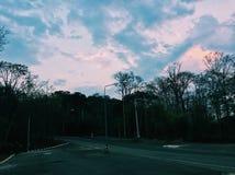 Δέντρα και σύννεφο στοκ φωτογραφία με δικαίωμα ελεύθερης χρήσης