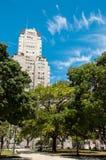 Δέντρα σε Plaza SAN Martin Στοκ φωτογραφίες με δικαίωμα ελεύθερης χρήσης