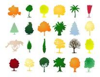 δέντρα συμβολικών γλωσσώ& Στοκ εικόνες με δικαίωμα ελεύθερης χρήσης