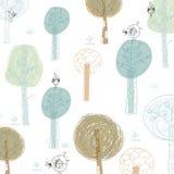 Δέντρα υποβάθρου Στοκ φωτογραφίες με δικαίωμα ελεύθερης χρήσης