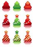 δέντρα cristmas Στοκ Εικόνες