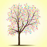 Δέντρο άνοιξης (καλοκαίρι) ελεύθερη απεικόνιση δικαιώματος