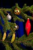 Δέντρο έλατου Χριστουγέννων Στοκ Εικόνες