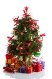δέντρο έλατου Χριστουγέν Στοκ Φωτογραφίες