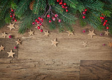 Δέντρο έλατου Χριστουγέννων Στοκ εικόνα με δικαίωμα ελεύθερης χρήσης