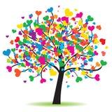 δέντρο αγάπης διανυσματική απεικόνιση