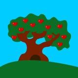 δέντρο αγάπης στοκ εικόνες