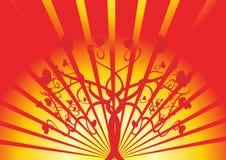 δέντρο αγάπης Στοκ φωτογραφίες με δικαίωμα ελεύθερης χρήσης