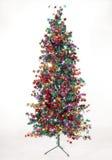 δέντρο αστεριών Χριστουγ Στοκ εικόνα με δικαίωμα ελεύθερης χρήσης
