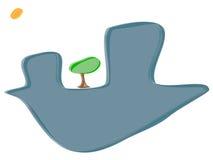 δέντρο αστικό Στοκ φωτογραφία με δικαίωμα ελεύθερης χρήσης